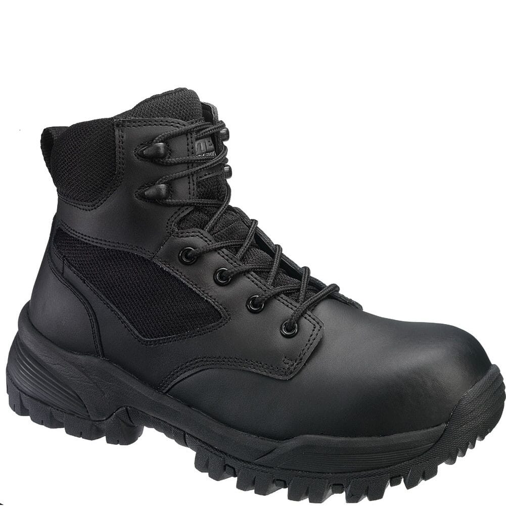 Image for Hytest Men's Comp Toe 6IN Safety Boots - Black from bootbay