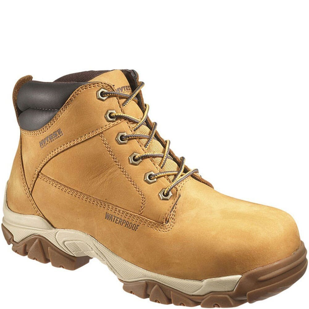 Image for Hytest Men's EH Waterproof Safety Boots - Gold from bootbay