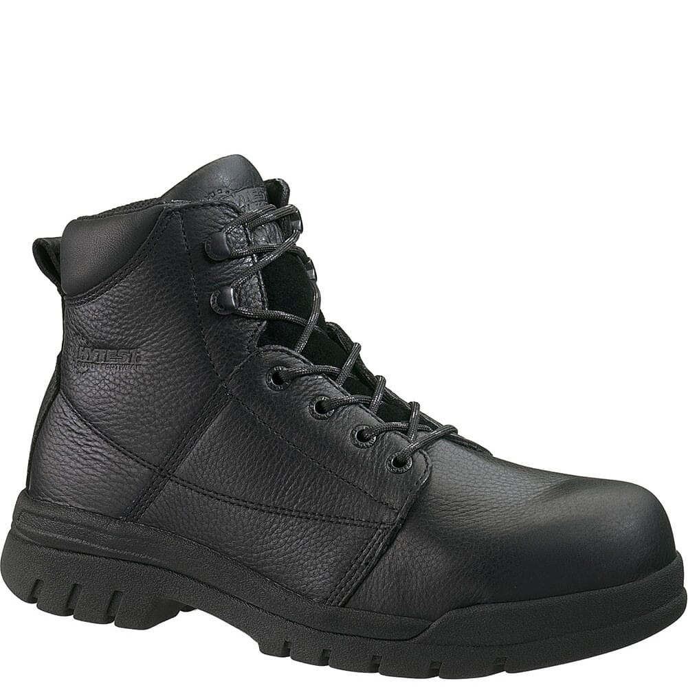 Image for Hytest Men's PR SR EH Safety Boots - Black from bootbay
