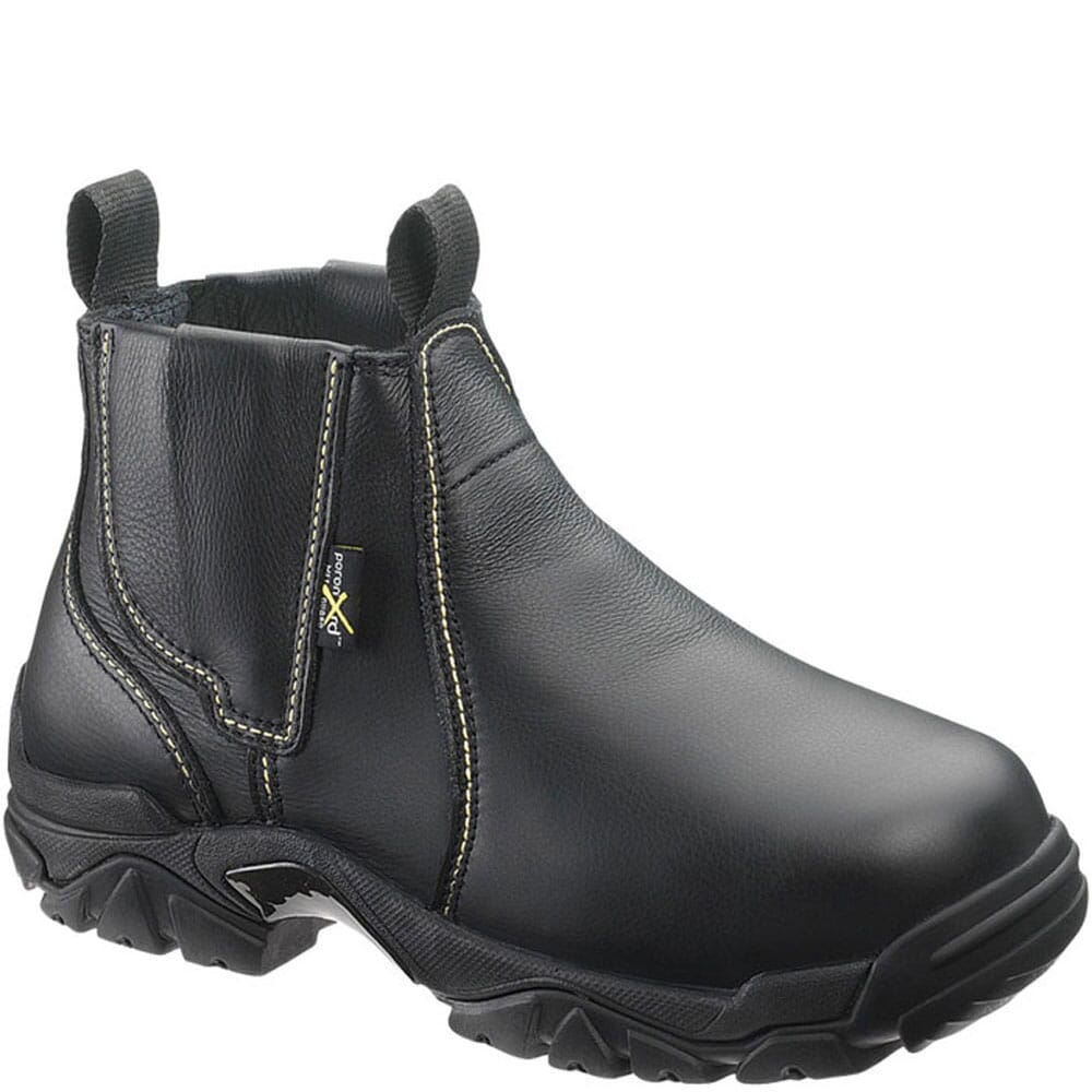 Image for Hytest Men's Met Guard Welder's Safety Boots - Black from bootbay