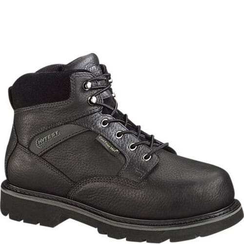 Image for Hytest Men's EH Internal Met Guard Side Zip Safety Boots - Black from bootbay