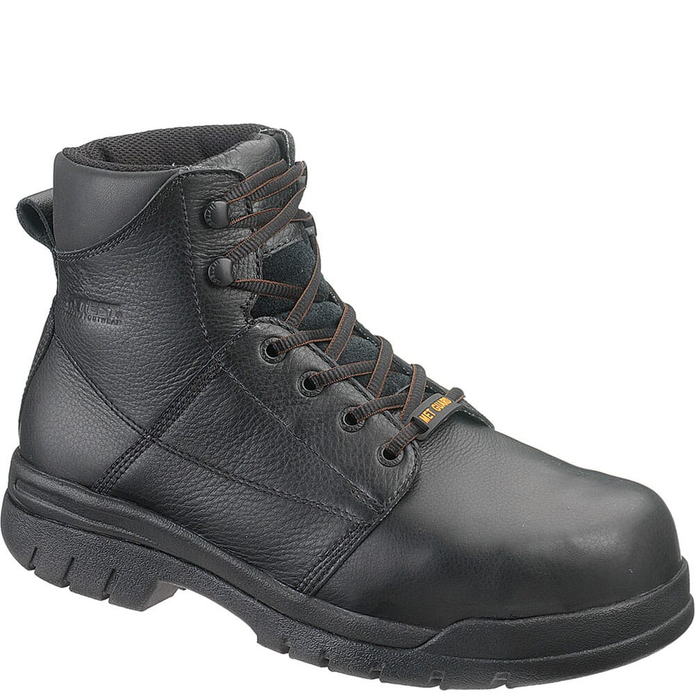 Image for Hytest Men's ConTour Internal Met Safety Boots - Black from bootbay