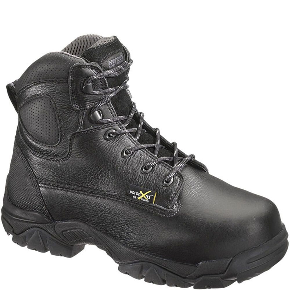 Image for Hytest Men's EH Internal Met Guard Safety Boots - Black from bootbay