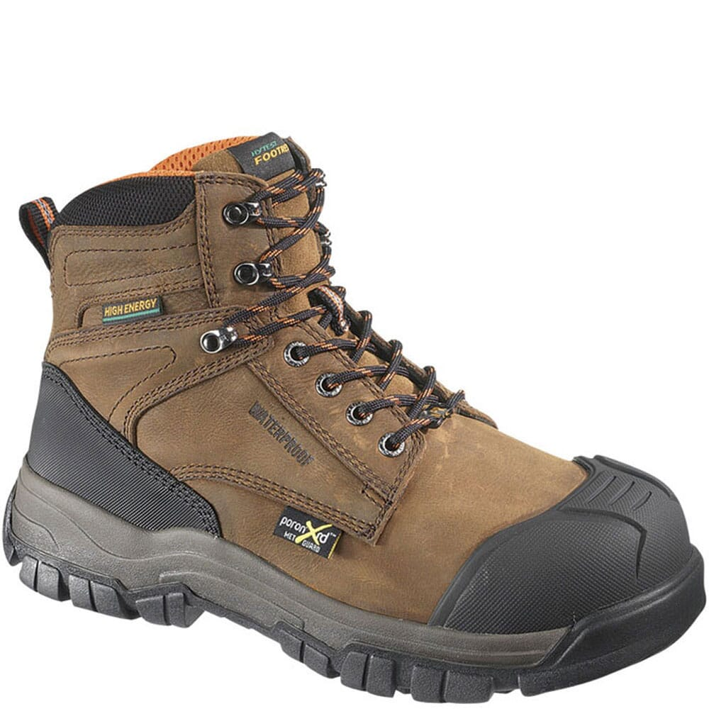 Image for Hytest Men's High Energy PR Safety Boots - Brown from bootbay