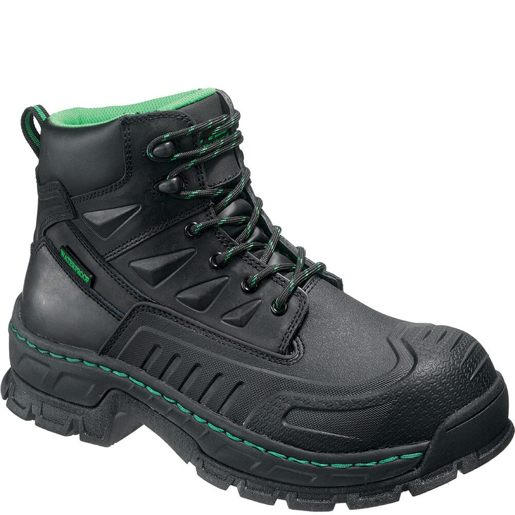 Image for Hytest Men's Waterproof EH Safety Boots - Black from bootbay