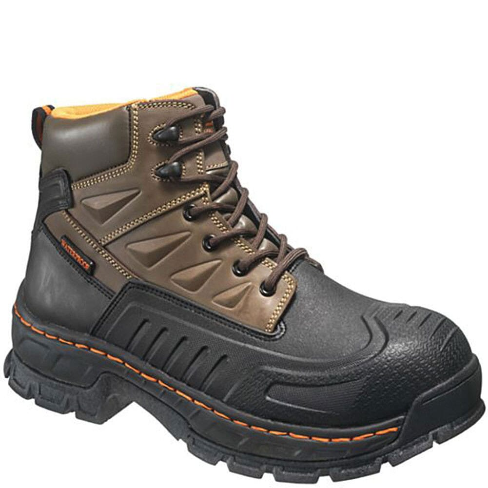Image for Hytest Men's Insulated WP Safety Boots - Brown from bootbay