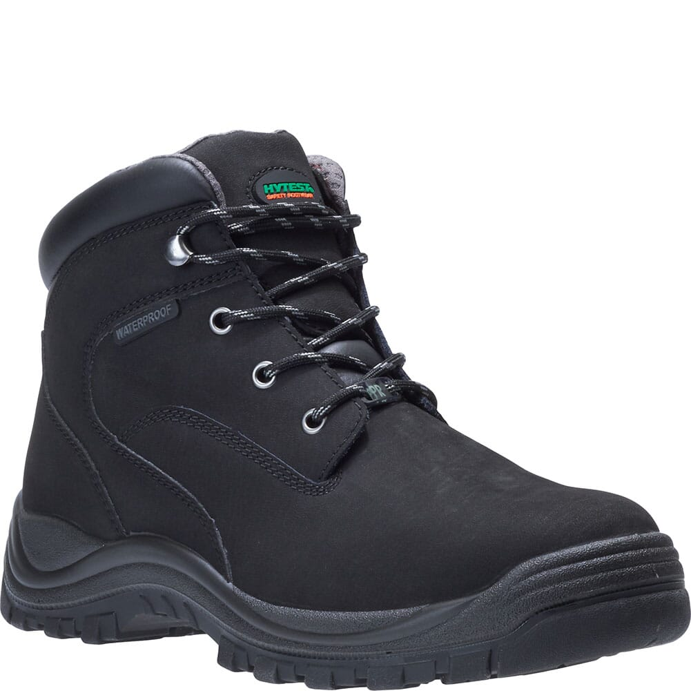Image for Hytest Men's Knox Waterproof PR Work Boots - Black from bootbay