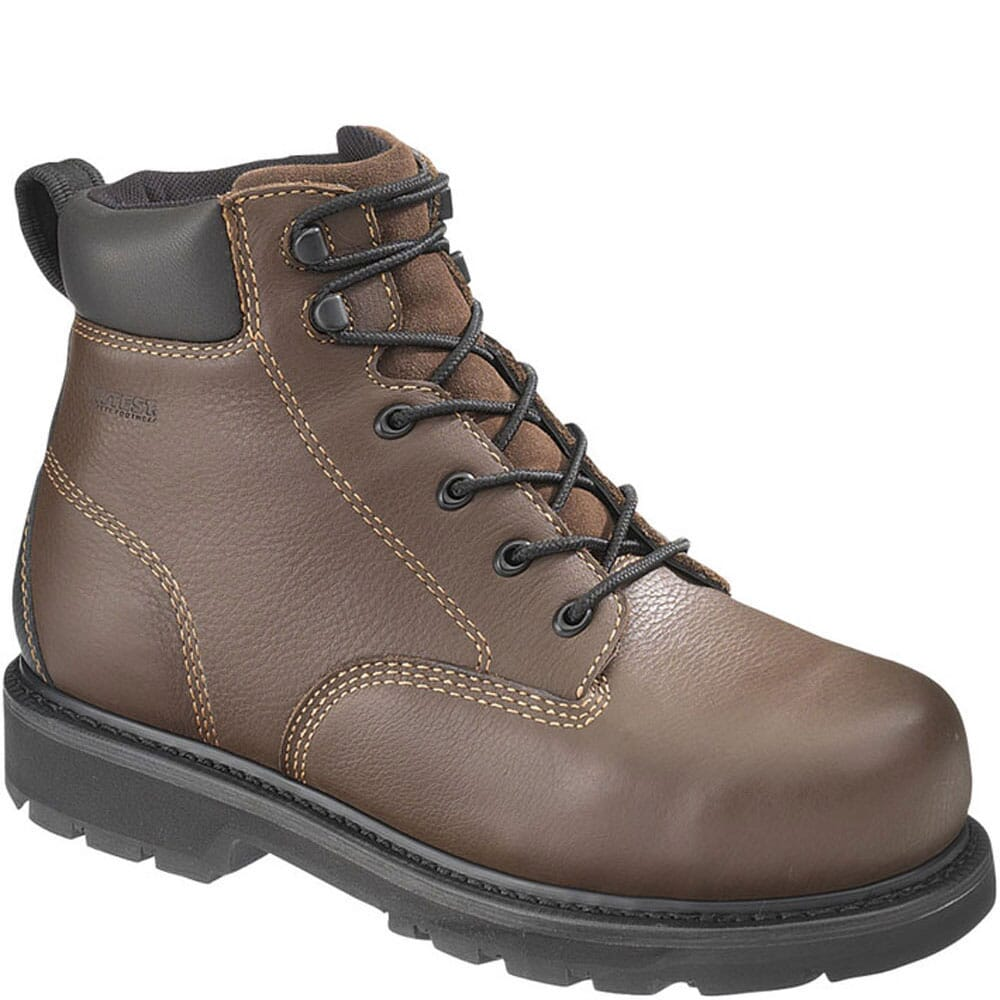 Image for Hytest Men's Internal Contour Safety Boots - Brown from bootbay