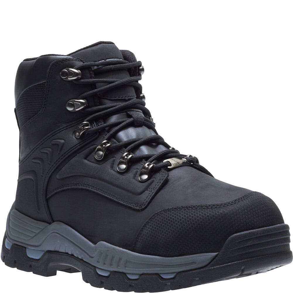 Image for Hytest Men's Internal Met Guard Safety Boots - Black from bootbay