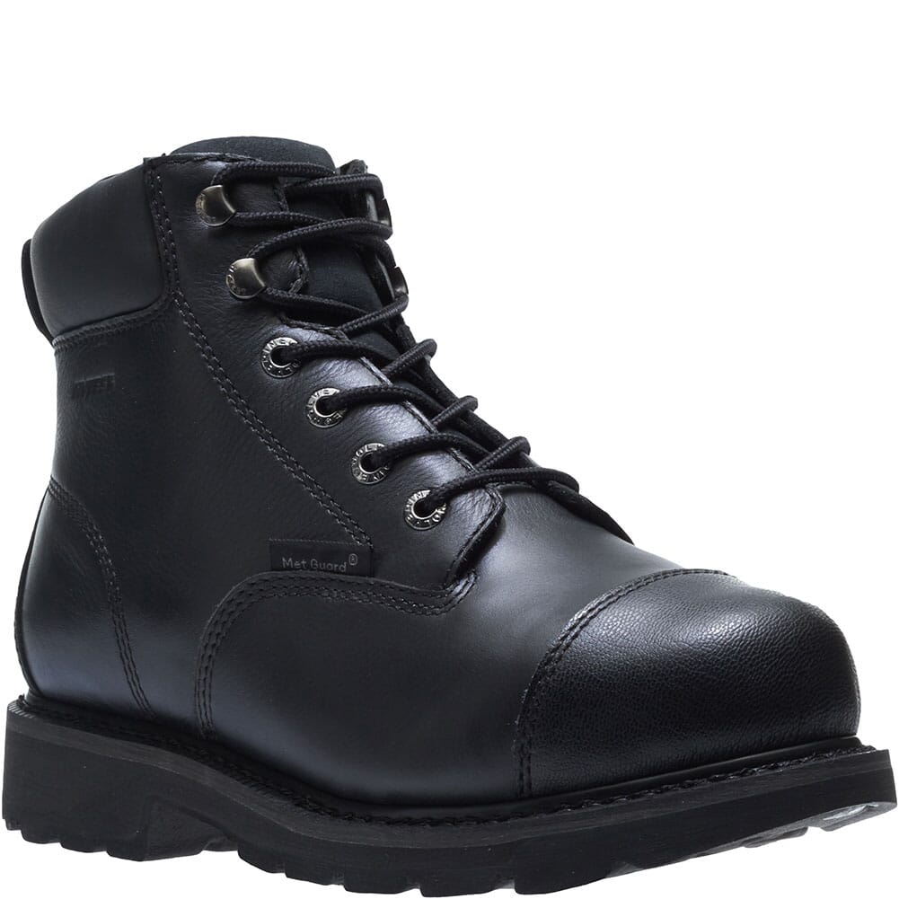 Image for Hytest Men's Brone WP Metatarsal Guard Safety Boots - Black from bootbay