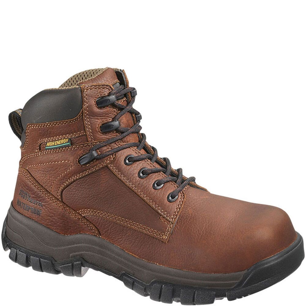 Image for Hytest Men's Energy EH Safety Boots - Brown from bootbay