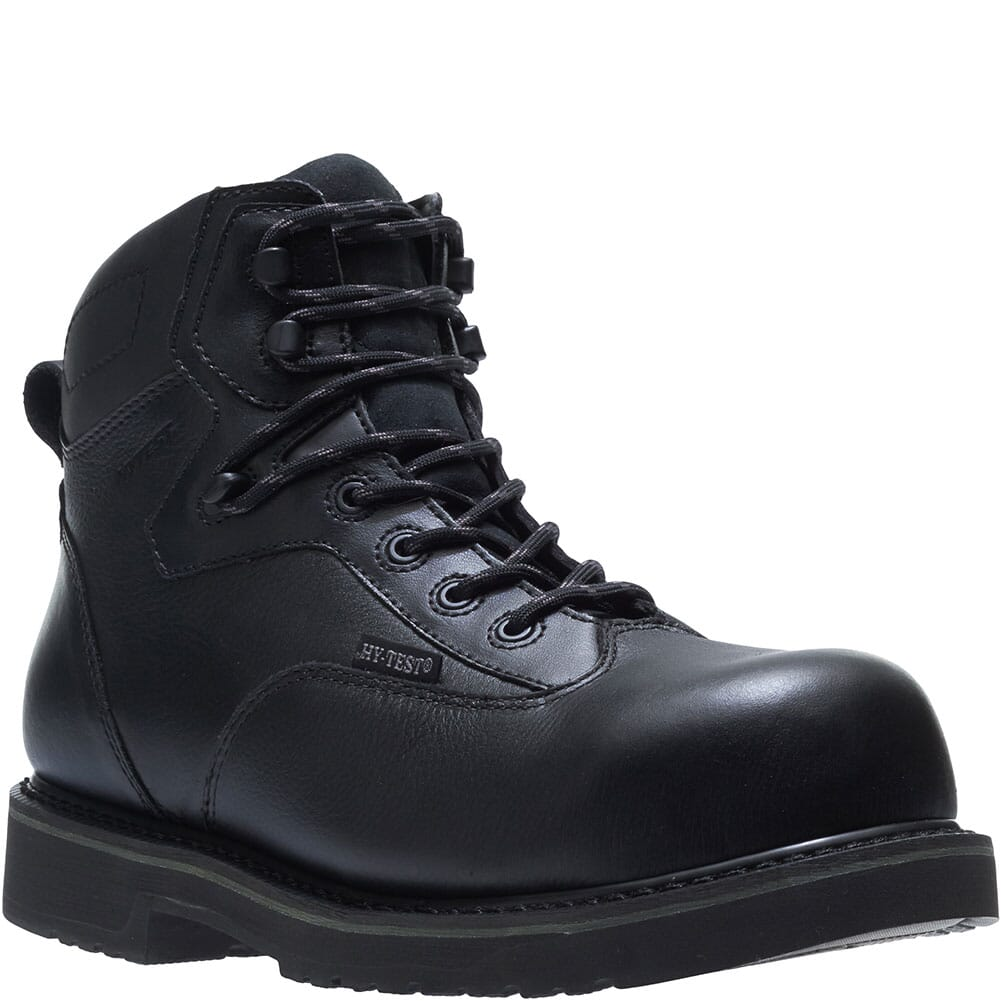 Image for Hytest Men's Byron Waterproof Work Boots - Black from bootbay