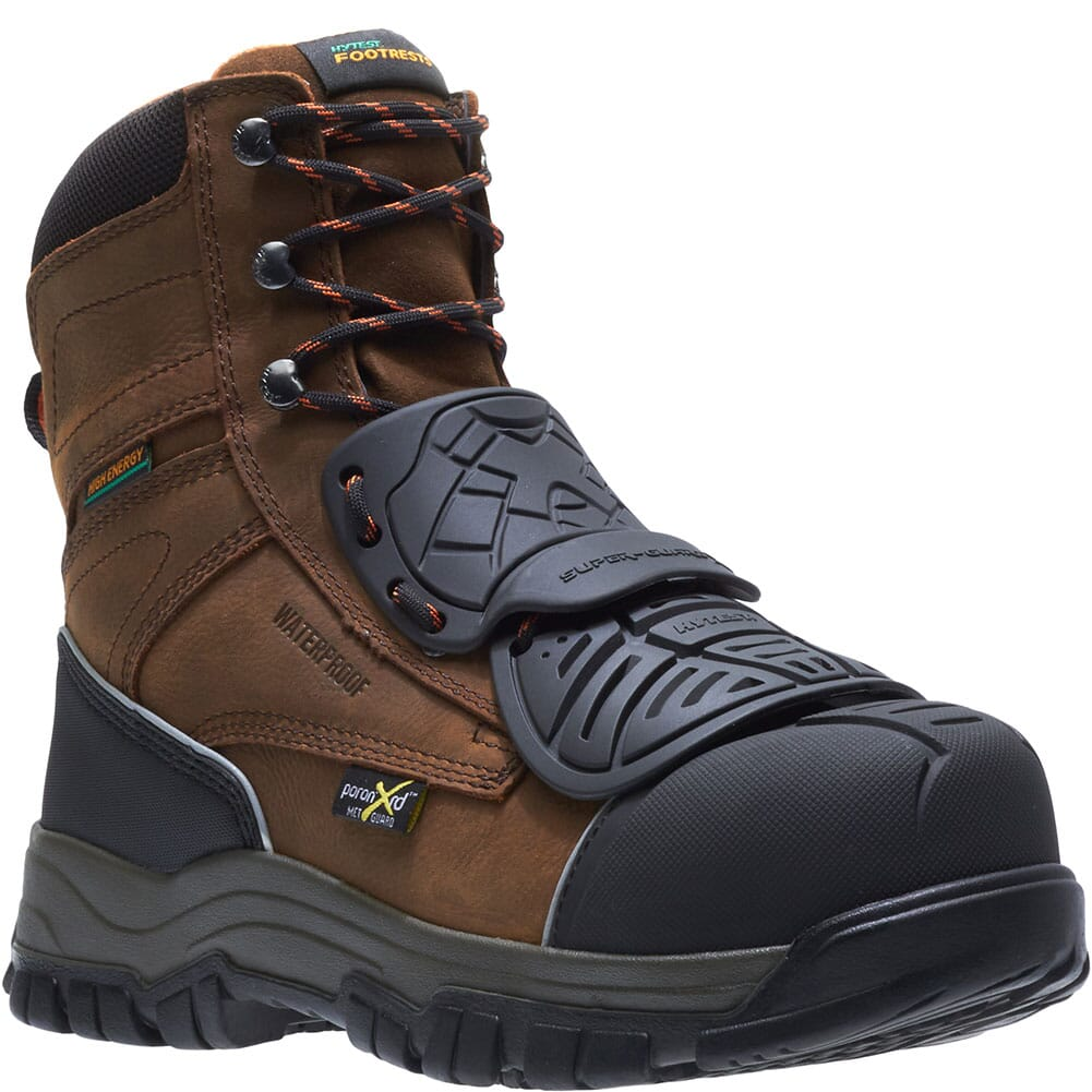 Image for Hytest Men's Super-Guard X Safety Boots - Brown from bootbay