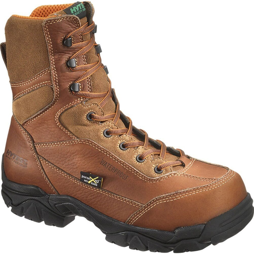 Image for HYTEST Men's WP EH XRD Metguard Safety Boots - Brown from bootbay