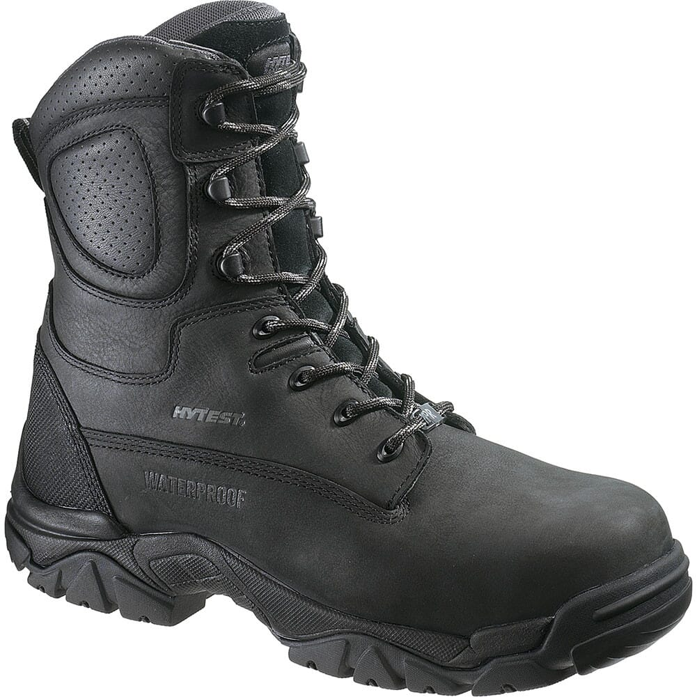 Image for Hytest Men's EH SR WP INS Safety Boots - Black from bootbay