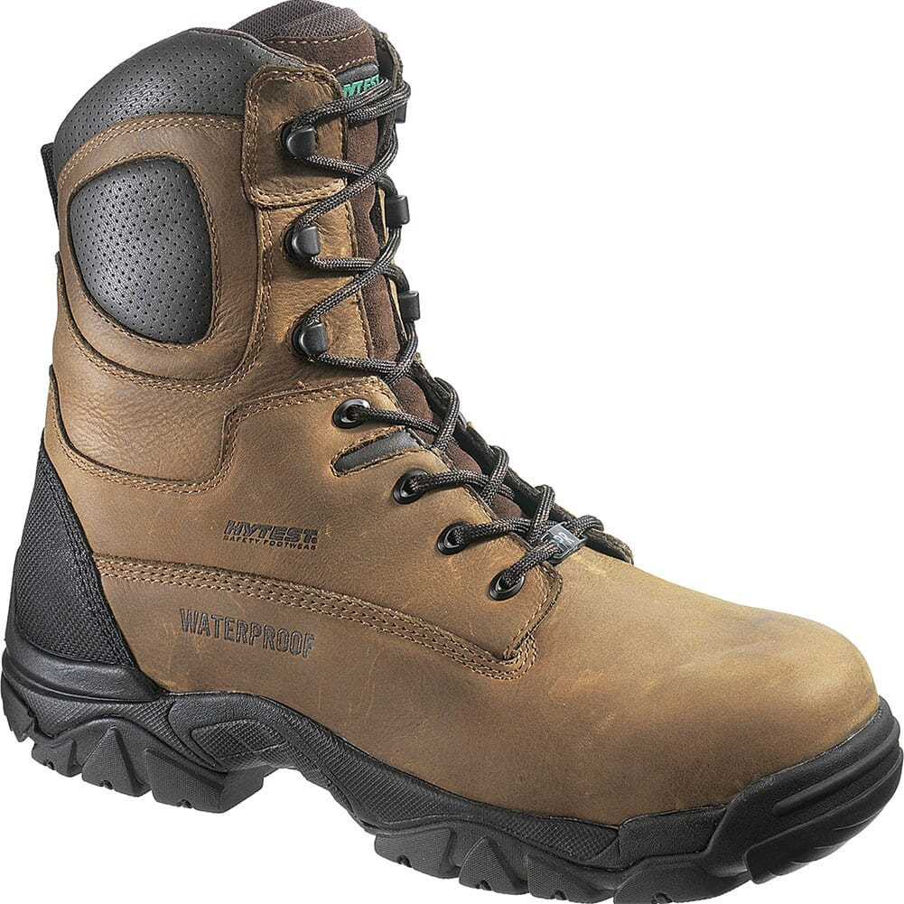 Image for Hytest Men's EH SR WP INS Safety Boots - Brown from bootbay