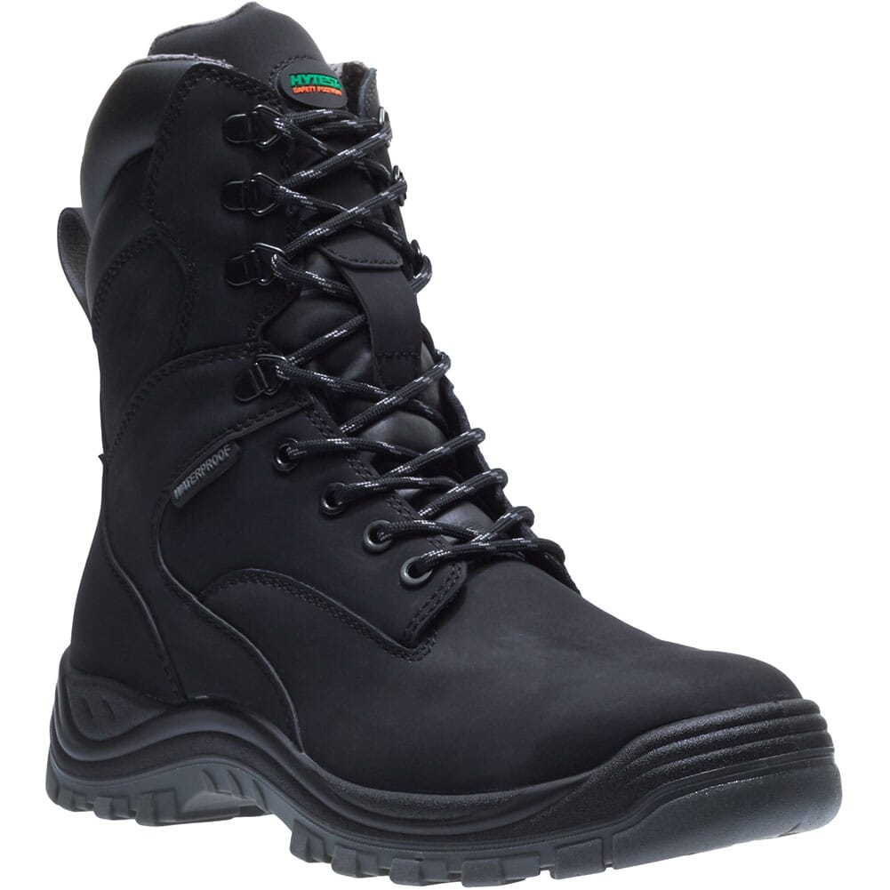 Image for Hytest Men's Knox Direct Attach 8IN Safety Boots - Black from bootbay