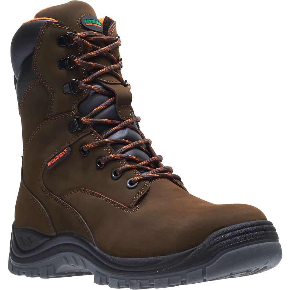 Image for Hytest Men's Knox Direct Attach 8IN Safety Boots - Brown from bootbay