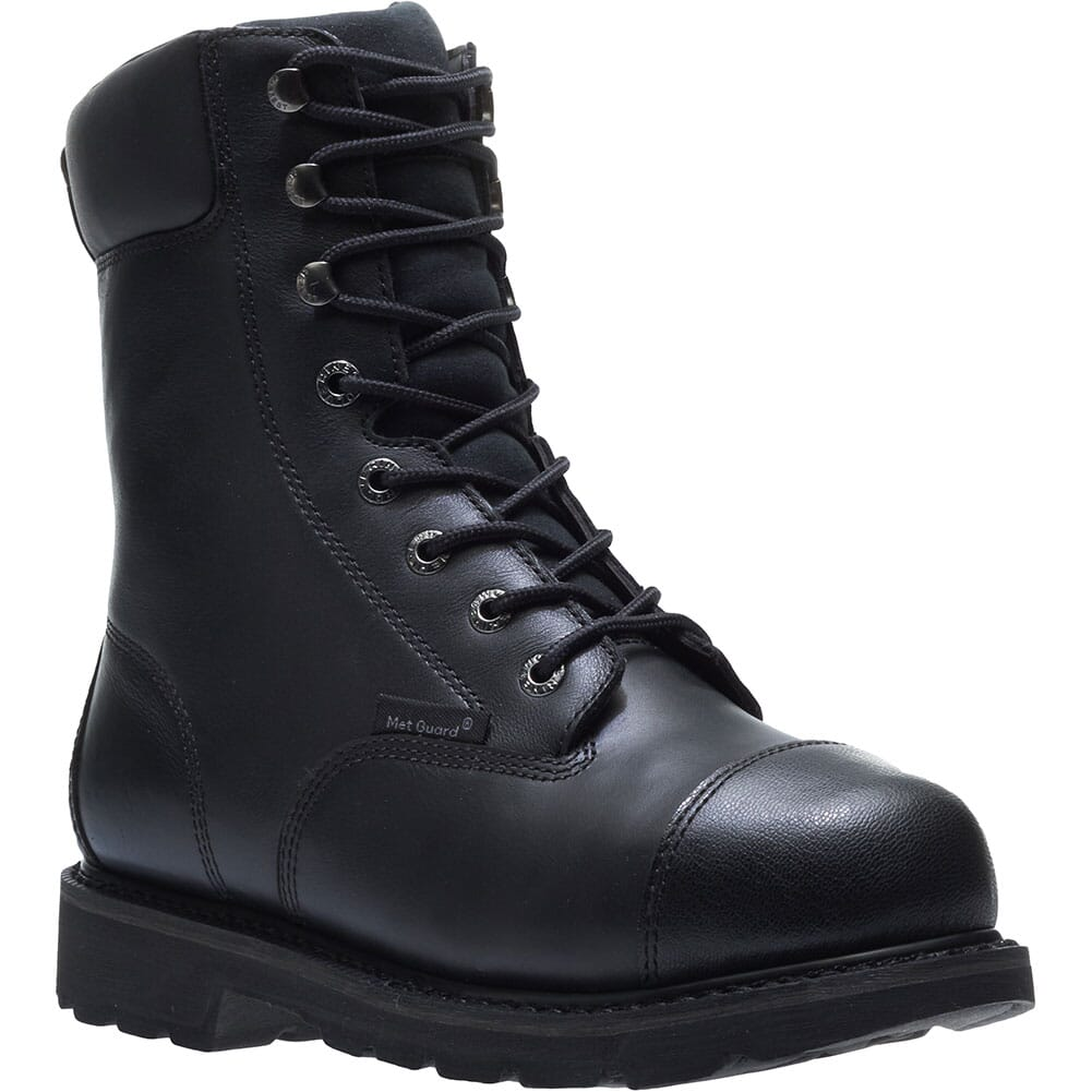 Image for Hytest Men's Brone WP Met Guard Safety Boots - Black from bootbay