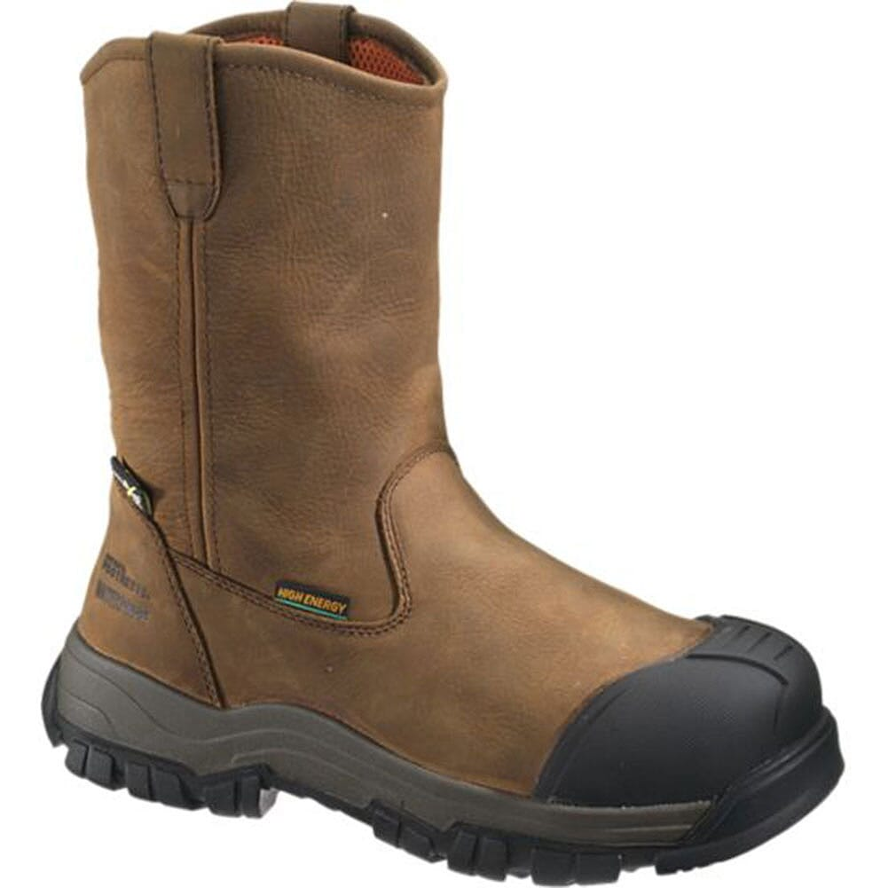 Image for Hytest Men's EH Met Safety Boots - Brown from bootbay