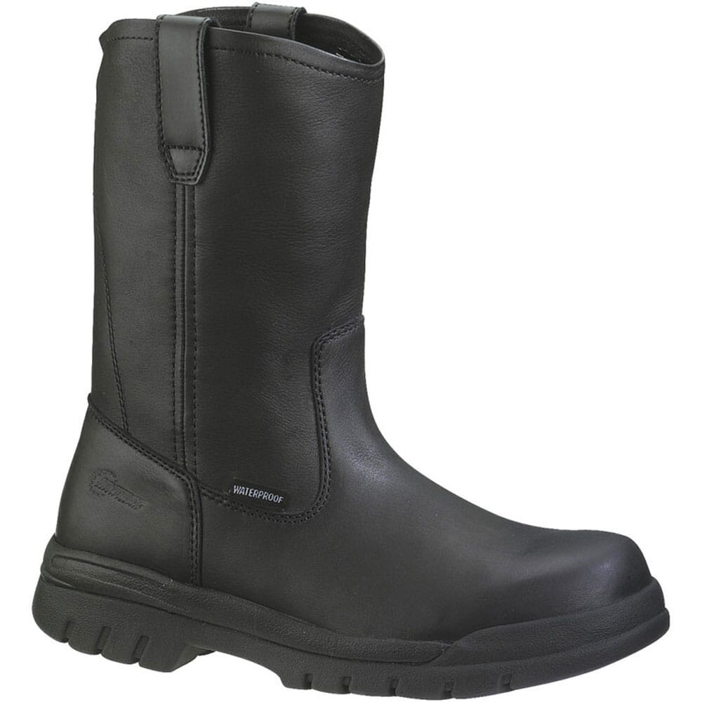 Image for HyTest Unisex Waterproof Wellington Safety Boots - Black from bootbay