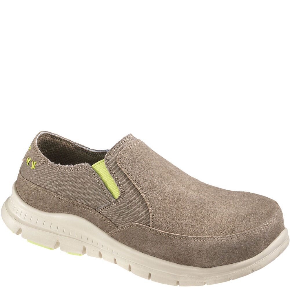 Image for Hytest Women's Canvas Safety Shoes - Khaki from bootbay
