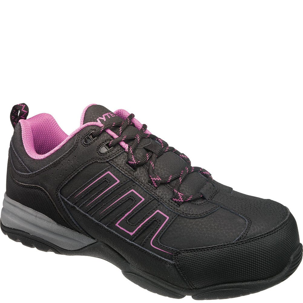Image for Hytest Women's Composite Toe Safety Shoes - Black from bootbay