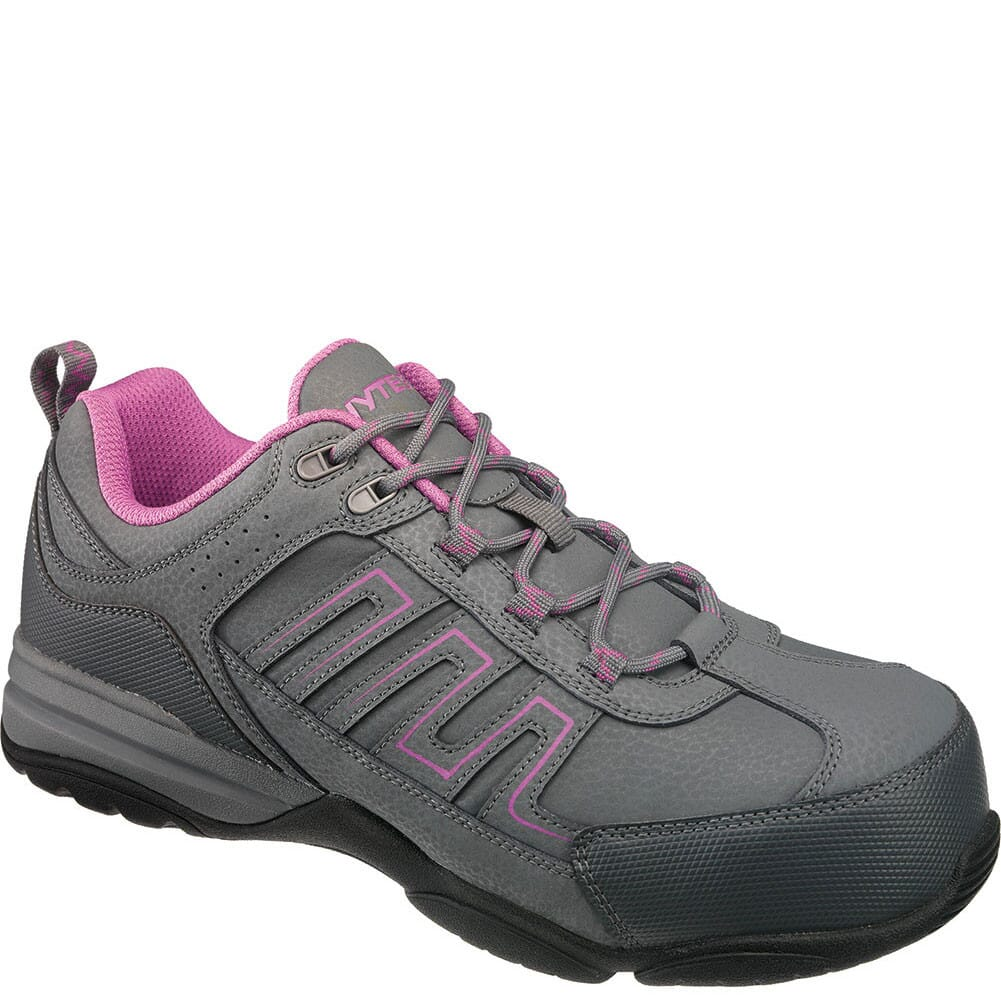 Image for Hytest Women's Composite Toe Safety Shoes - Grey from elliottsboots