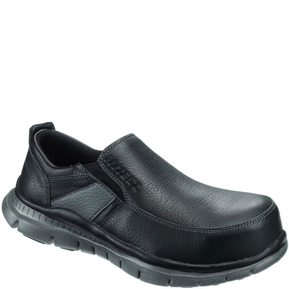 Image for Hytest Women's Slip On EH Safety Shoes - Black from elliottsboots
