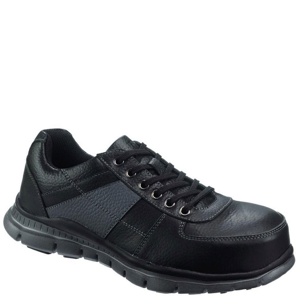 Image for Hytest Women's Slip Resistant Safety Shoes - Black from elliottsboots