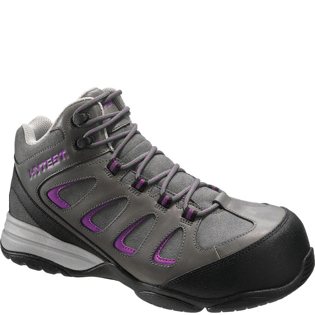 Image for Hytest Women's SD Safety Boots - Grey from bootbay
