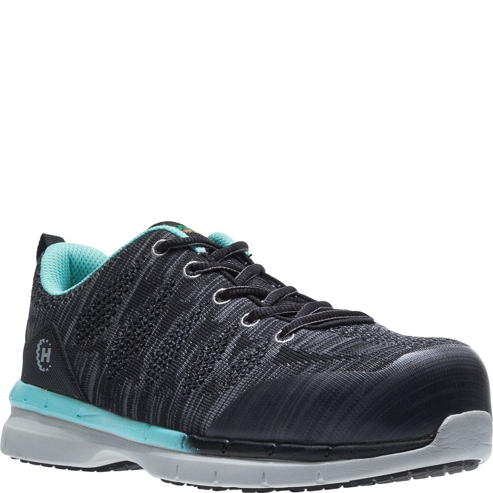 Image for Hytest Women's Athletic SD Safety Shoes - Black from elliottsboots