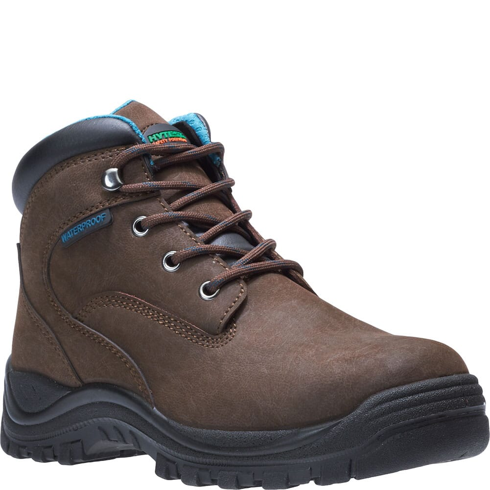 Image for Hytest Women's Lithium Safety Boots - Brown from elliottsboots