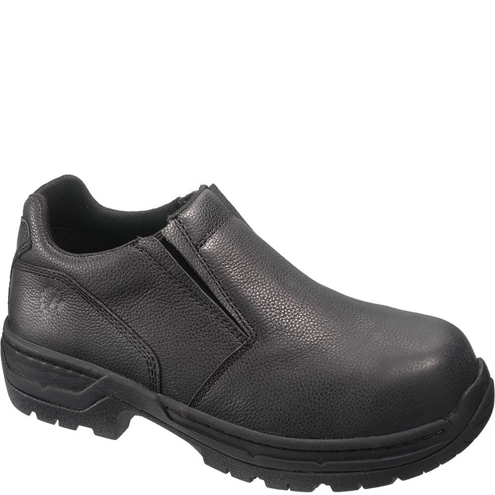 Image for Footrests Men's Stealth Safety Slip On - Black from bootbay