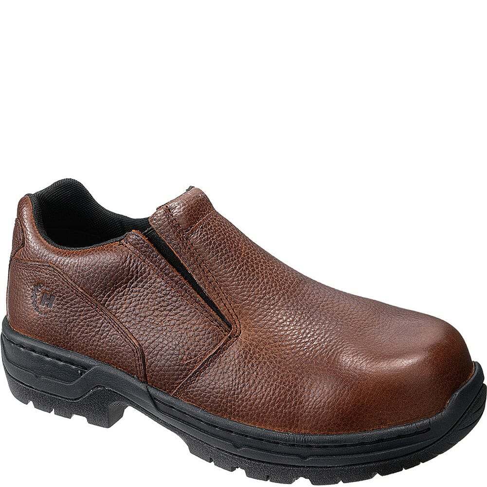Image for Footrests Men's Stealth Safety Slip On - Brown from bootbay
