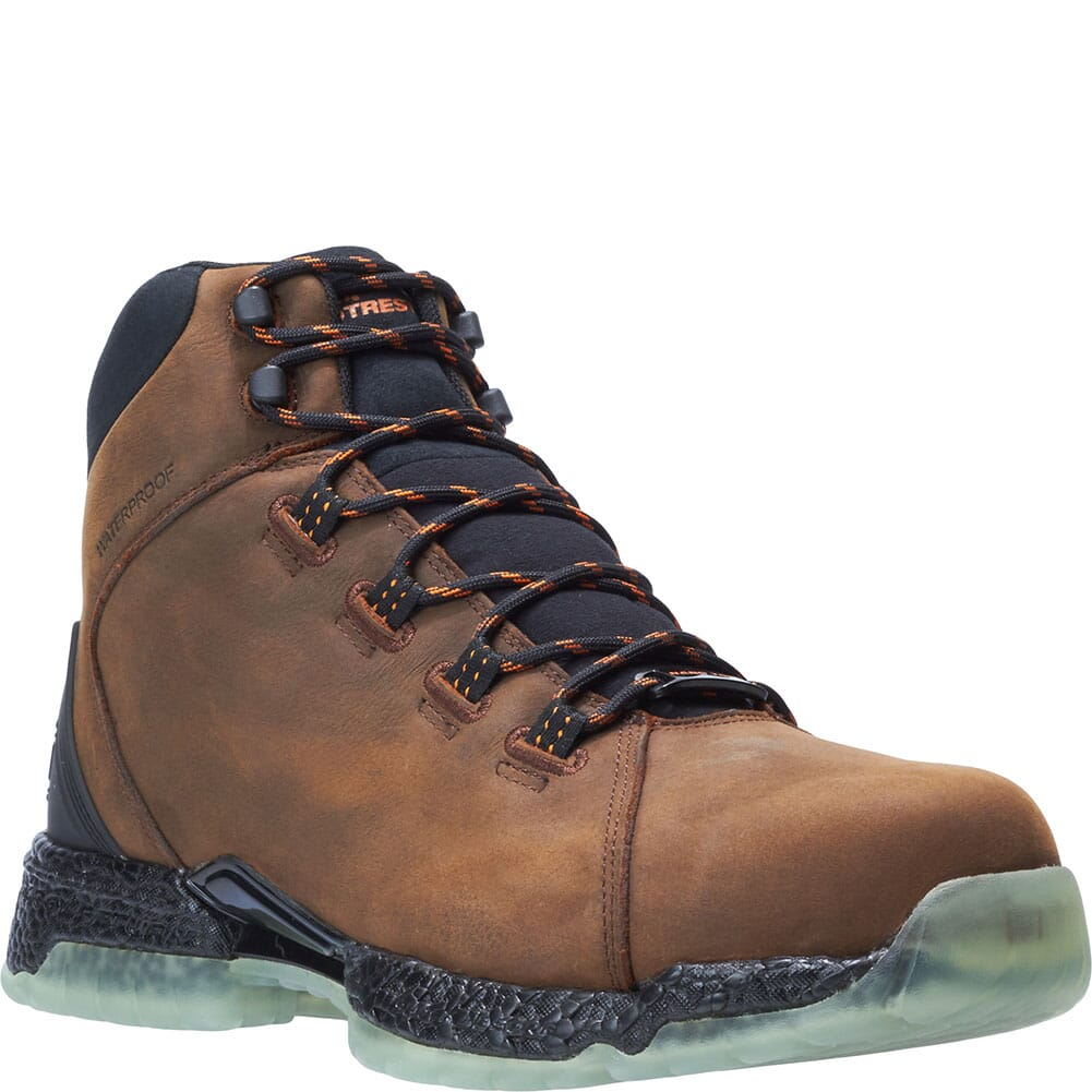 Image for Footrests by Hytest Men's 2.0 Xergy WP Safety Boots - Brown from bootbay