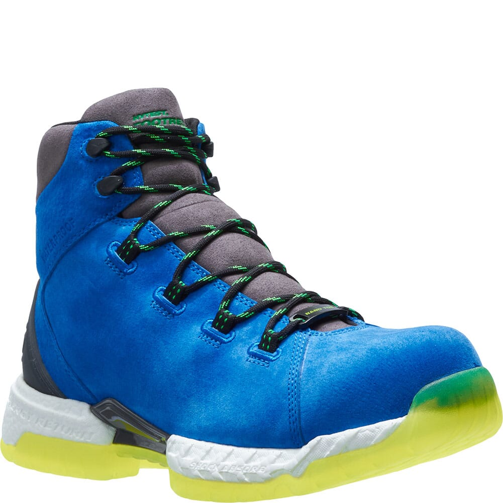 Image for Footrests by Hytest Men's 2.0 Xergy WP Safety Boots - Blue from bootbay
