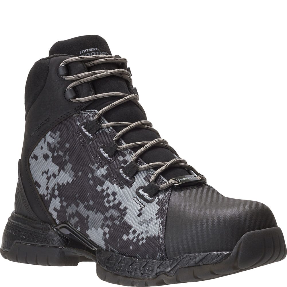 Image for Footrests by Hytest Men's 2.0 Rebound WP Safety Boots - Camo/Black from bootbay