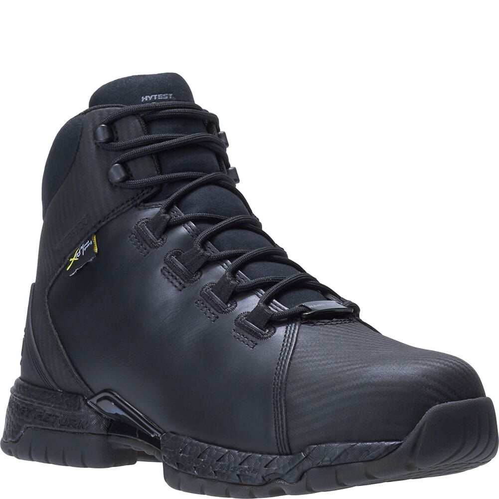 Image for Footrests by Hytest Men's 2.0 Rebound Met Guard WP Safety Boots - Black from bootbay
