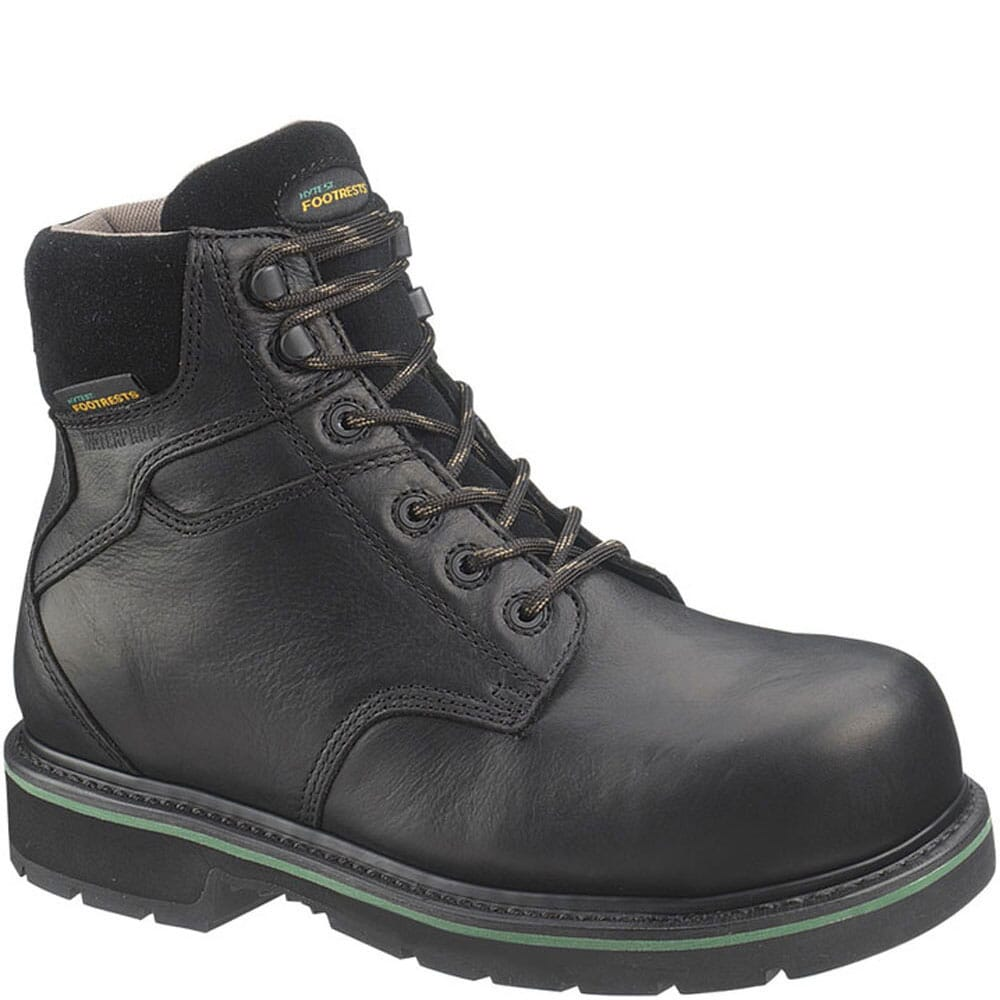 Image for Footrests by Hytest Unisex WP EH Ct Safety Boots - Black from bootbay