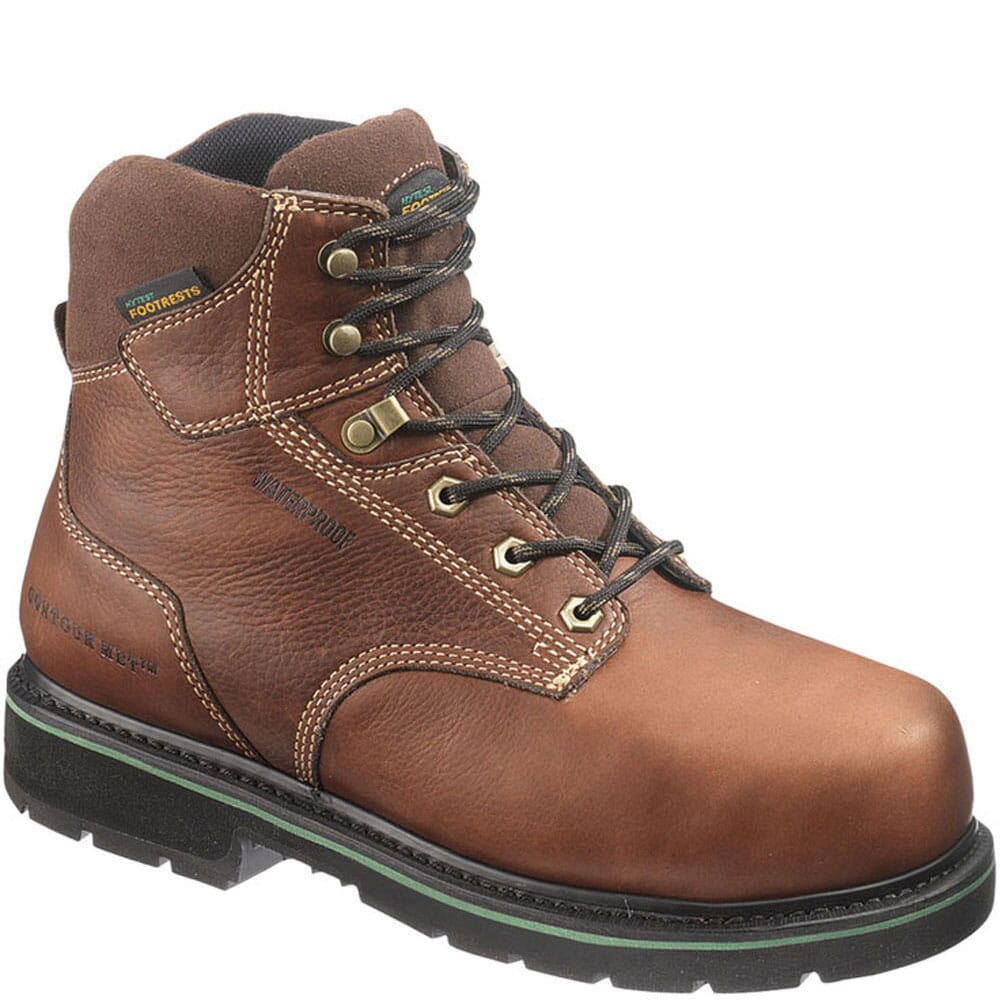 Image for Footrests by Hytest Men's Texon Safety Boots - Brown from bootbay