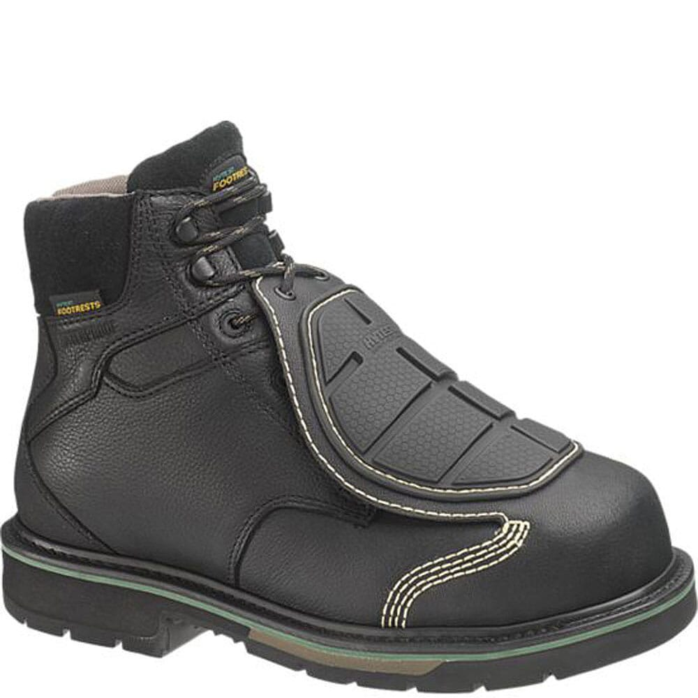 Image for Footrests by Hytest Men's Smart Guard Safety Boots - Black from bootbay