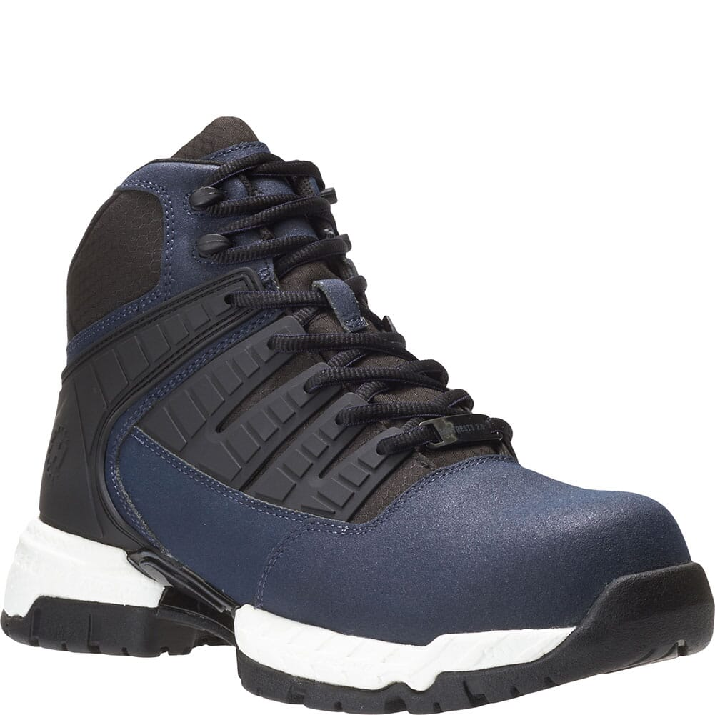 Image for Hytest Men's Footrests 2.0 Tread Safety Boots - Navy from bootbay