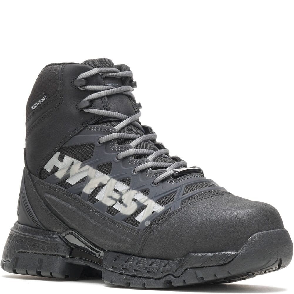 Image for Hytest Men's Footrests 2.0 Charge Safety Boots - Black from bootbay