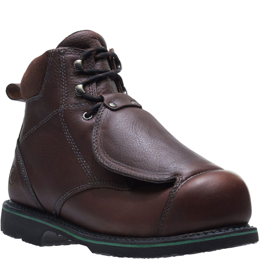 Image for Hytest Men's Heat Resistant Safety Boots - Brown from bootbay