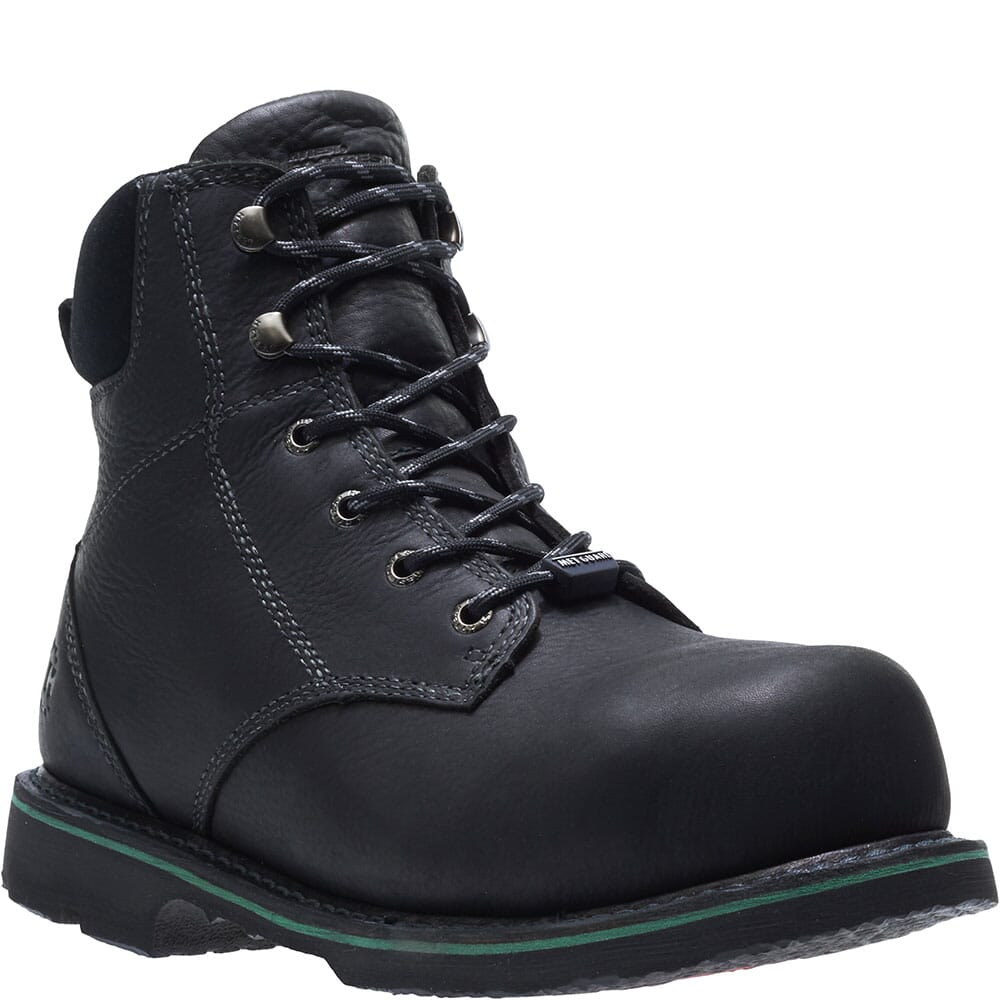 Image for Hytest Men's Met Guard Safety Boots - Black from bootbay