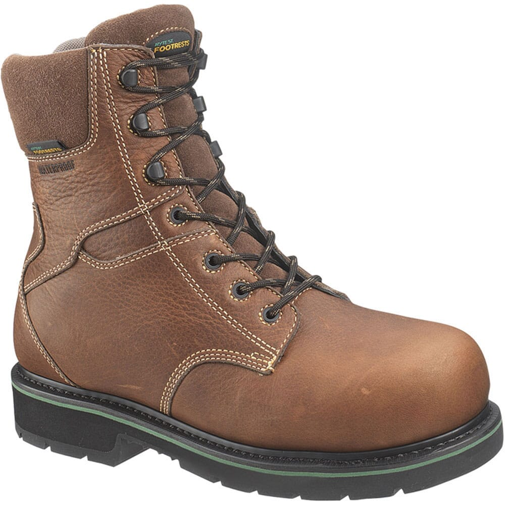 Image for Footrests by Hytest Men's WP INS Safety Boots - Brown from bootbay