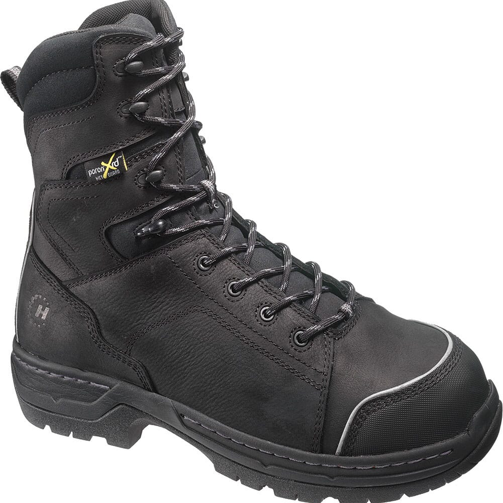 Image for Footrests Men's Stealth Met Safety Boots - Black from bootbay