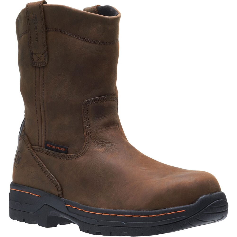 Image for Footrest Men's Waterproof Safety Boots - Brown from bootbay