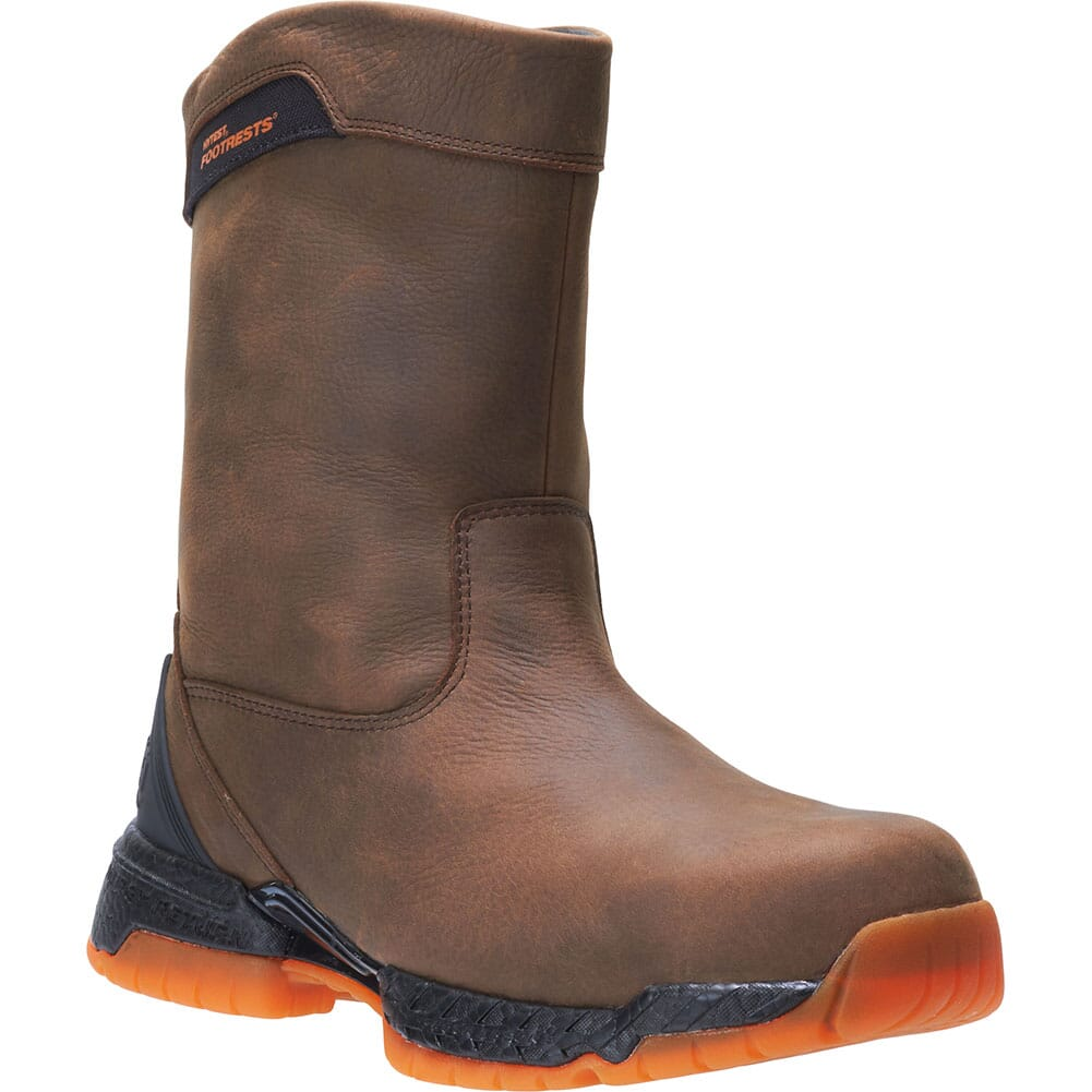 Image for Hytest Men's Footrests 2.0 Crossover Safety Boots - Brown from bootbay